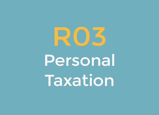 R03 Personal Taxation logo