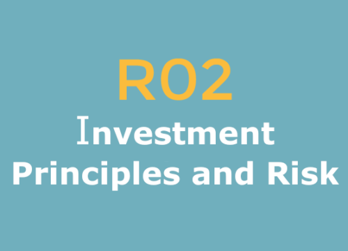 R02 Investment Principles and Risk logo